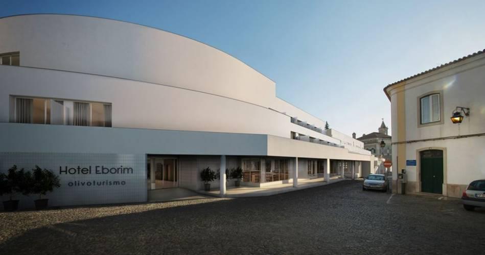 Antigo centro comercial em Évora